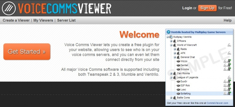 Voice Comms Viewer - Mumble Wiki